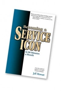 Becoming a Service Icon in 90 Minutes Month