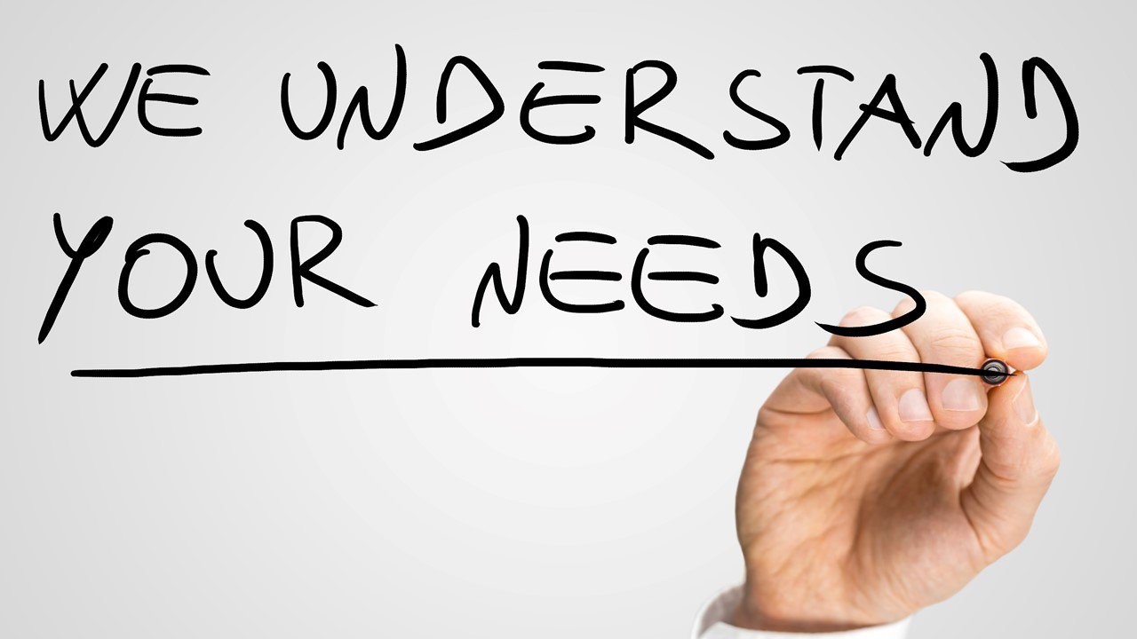 Understand needs