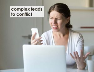 Jeff Mowatt customer service tip, complex leads to conflicts