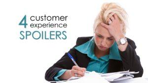 customer experience spoilers
